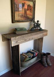 What To Put On End Tables by 40 Stunning Reclaimed Wood Console Tables