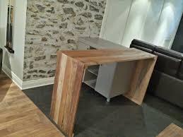 fabriquer table haute cuisine fabriquer meuble haut cuisine home creer un comptoir bar