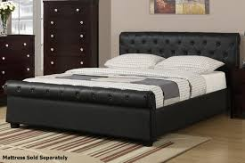 Queen Mattress Frame Bed Frames Sleigh Bed King Black Queen Bed Frame Storage Bed