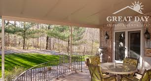 Patio Covering Designs by Patio Cover Designs Ideas U0026 Pictures Great Day Improvements