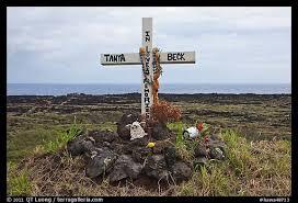 memorial crosses for roadside picture photo roadside memorial hawaii usa