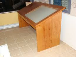 Lighted Drafting Table Wood Products