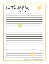 what i am thankful list this would be great to for family