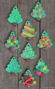 salt dough christmas tree decoration christmas trees christmas