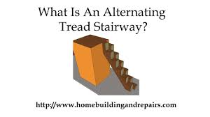 Alternate Tread Stairs Design Alternating Tread Stairway Designs Can Fit In Smaller Spaces Youtube