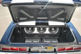 camaro speaker box sub location in 69 camaro
