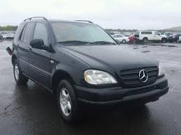 2001 mercedes ml320 auto auction ended on vin 4jgab54e61a238038 2001 mercedes