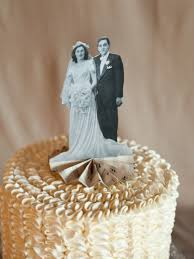 anniversary cake toppers diy heirloom cake topper wedding topper vintage weddings and