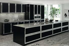 allmilmo cuisine allmilmo model 53b black and chrome modern kitchens