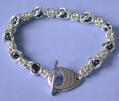 silver plated bracelet chain images Captured byzantine silver plate midwest maille jpg