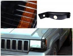 1998 jeep grand bumper jeep grand 1993 1998 black bumper lights and corner