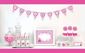 Princess Party Decorations Event Blossom Birthday Party Favors