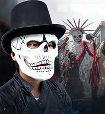 James Bond Halloween Costume Amazon Gmasking James Bond 007 Spectre Skull Skeleton Cosplay