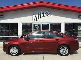 ford fusion sales 2014 2014 ford fusion hybrid se in columbus ne mike s auto sales