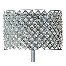 Black And Crystal Table Lamps Glass Crystal Table Lamp Value City Furniture