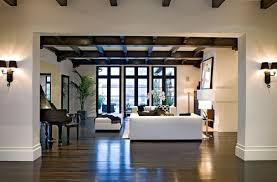 Mediterranean Style Home Interiors Spanish Dream House Spanish Revival Beams And Spanish