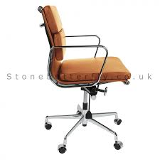 Modern Leather Office Chairs Interesting Tan Leather Office Chair Contemporary Ideas Leather