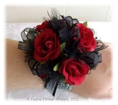and black corsage wrist corsage for homecoming for black dress festus flower