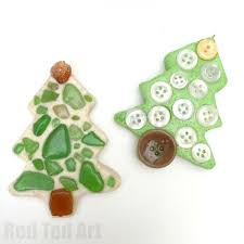 sea glass ornaments salt dough tree ornament ted s