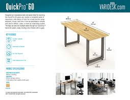 office benching quickpro 60 quickpro by varidesk reviews