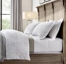 medallion cotton linen bedding collection