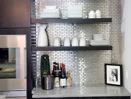 Stick On Kitchen Backsplash Peel And Stick Kitchen Backsplash Self Stick Glass Tile Backsplash