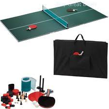 Outdoor Tennis Table Viper Portable 3 In 1 Table Tennis Top Ebay