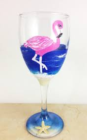 wine glass gift flamingo gifts best wine gifts pink flamingo gift for