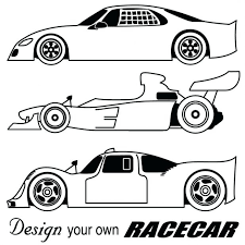 race car coloring pages toddlers racing colouring pictures