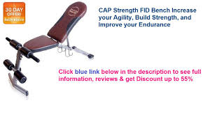 best fitness fid bench best price cap strength fid bench increase your agility youtube