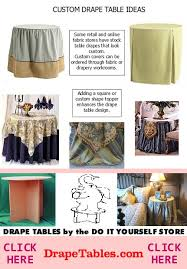 Table Linen Sizes - selecting the appropriate table cloth sizes tableclothsizes org