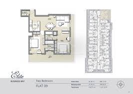 floor plans elite business bay residence dubai