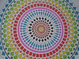 coloriage laissez vous aller à la créativité et à la détente
