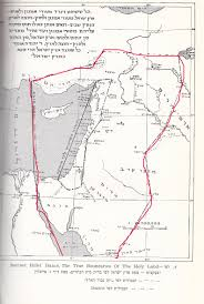 Map Of Isreal Land Of Israel