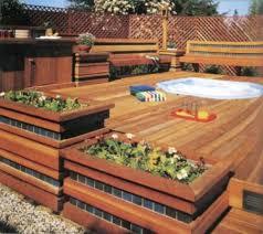 decks here u0027s a cool tub deck design w