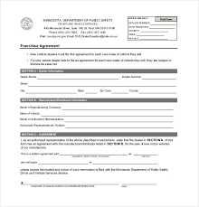 licensing agreement template free franchise agreement template