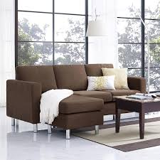 Sofas For Small Spaces Dorel Living Small Spaces Configurable Sectional Sofa Best Home