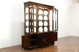 Curio Cabinets With Glass Doors Curio Cabinet China Curioet Jpg Black And Hutchets With Glass