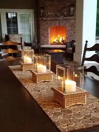 Hearth And Patio Nashville Tabletop Glass Fireplace This Indoor Outdoor Lantern Can Add