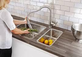 Kitchen Collection Locations Faucet Com 30213dc0 In Supersteel By Grohe