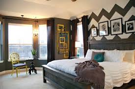 Mastering The Master Bedroom The Reveal Makely - Chevron bedroom ideas