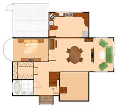 make house plans floor plans solution conceptdraw