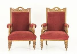 antique chairs jacobean barley twist 2 arm chairs scotland