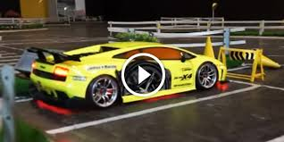 rc drift cars lamborghini a great display of exceptional drifting skills with rc lamborghini