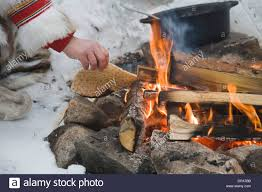 outdoor life outdoorlife same cooking on campfire coffee cettle and frying