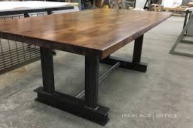 bar height conference table rustic industrial conference table coma frique studio 90f88bd1776b