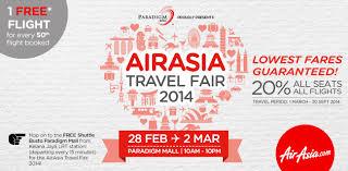 airasia travel fair airasia travel fair 2014