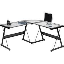 desks coaster peel black computer desk with keyboard tray ikea