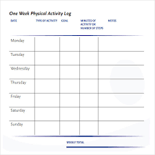 daily log templates daily food diary and log template daily food
