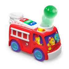 bright starts having a ball roll and pop fire truck toys